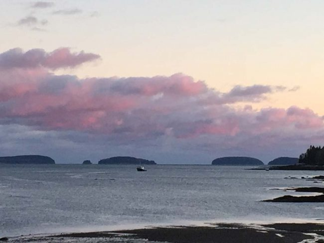 Porcupine Islands from nearby Jellison Cove
