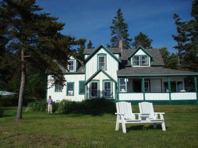 Cottage and Guest House, Hancock Point