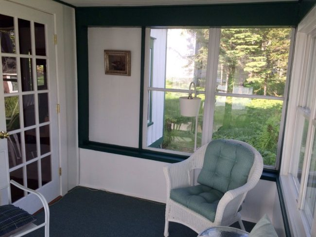 Cottage and Guest House, Hancock Point - Porch