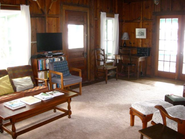 Cottage and Guest House, Hancock Point - Living Room