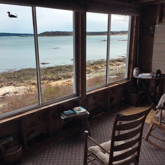 Hodgkins Haven, Oceanfront Cottage View