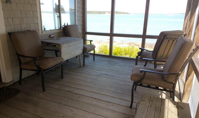Hodgkins Haven, Oceanfront Cottage