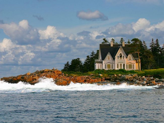 Great Duck Island House