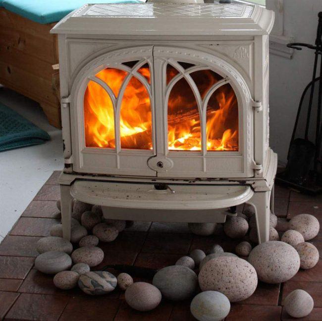 Cozy Wood Stove