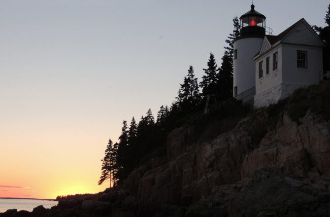 Bass Harbor Light House, Acadia National Park, Schoodic Peninsula