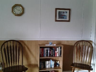 Dining room and reading material