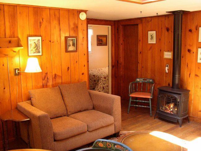 Cozy living room, Pine Cottage