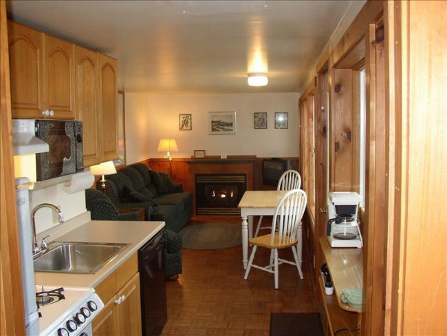 Kitchen / Living room, Carriage House, vacation rental