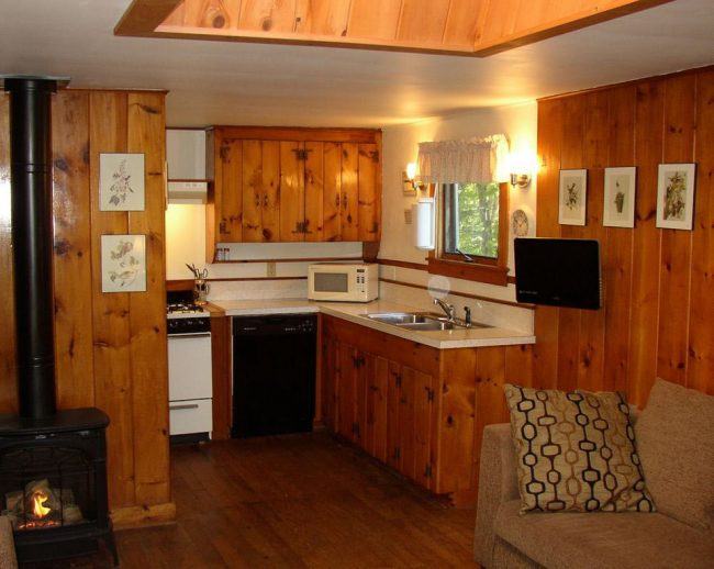 Kitchen, Pine Cottage, Bass Harbor Cottages and Country Inn, vacation rental