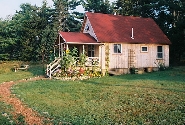Blueberry Cottage, September