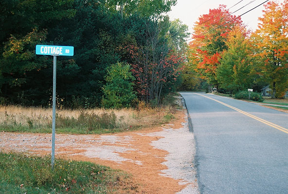 Cottage Rd. October