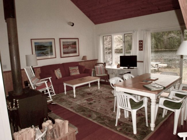 Living room, Cottage 1