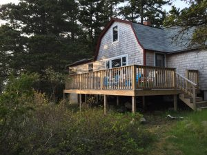 Lyford Cottage deck