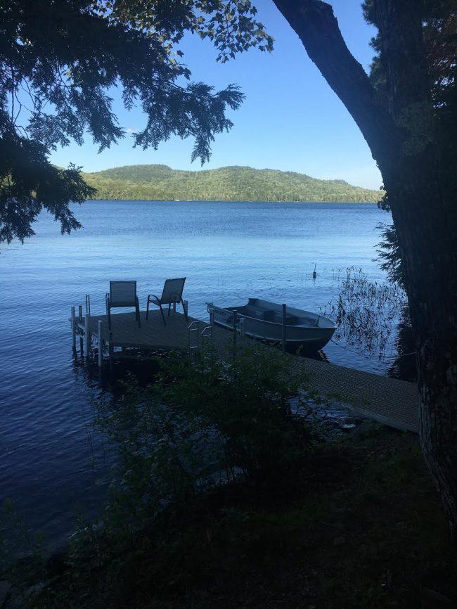 Log Cabin on Davis Pond - Dock