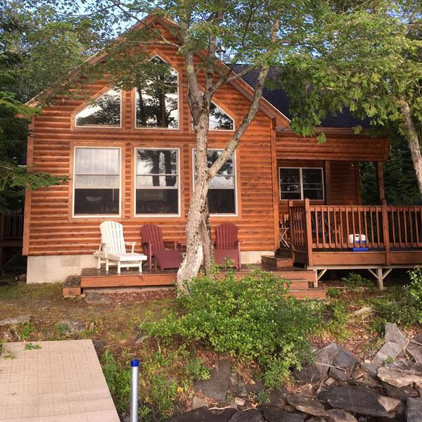 Log Cabin on Davis Pond - main