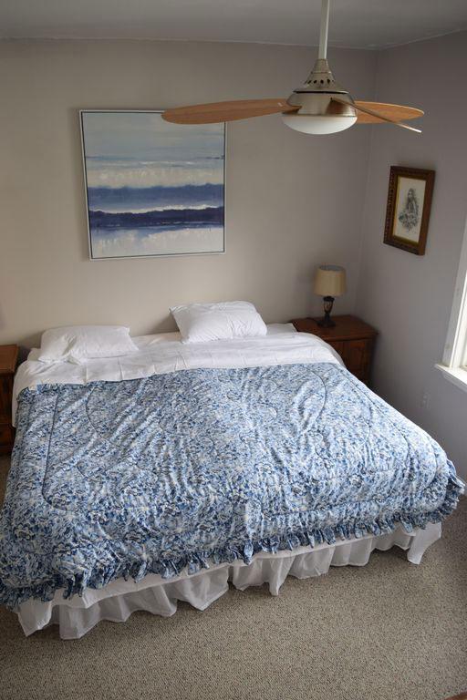 Lakefront Getaway Bedroom