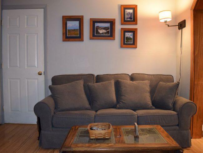 Lakefront Getaway - Living area