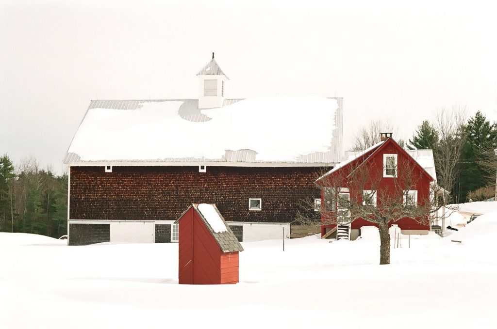 Red Shed Cottage in Denmark, Maine - A Bit of Maine Vacation